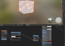 Blender 2.91 - Emission Strength added to principled BSDF node