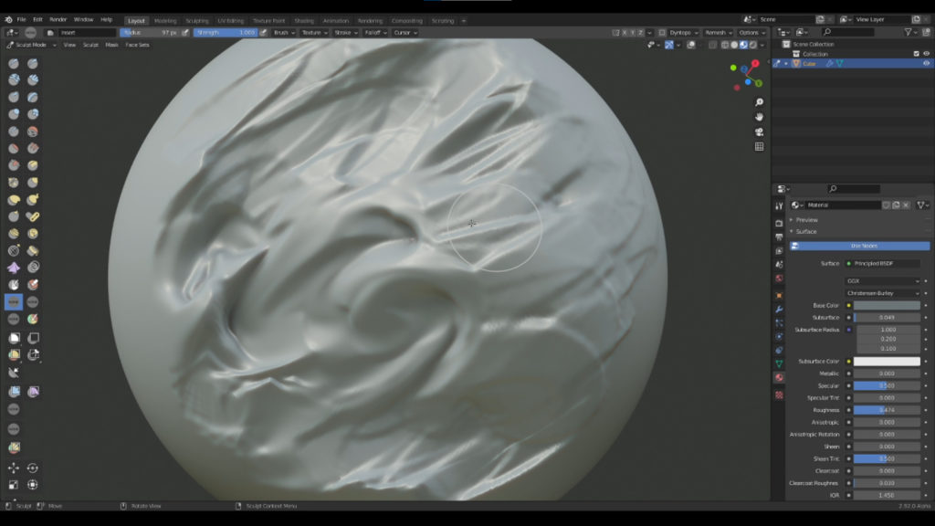 New Multires Displacement Smear Tool