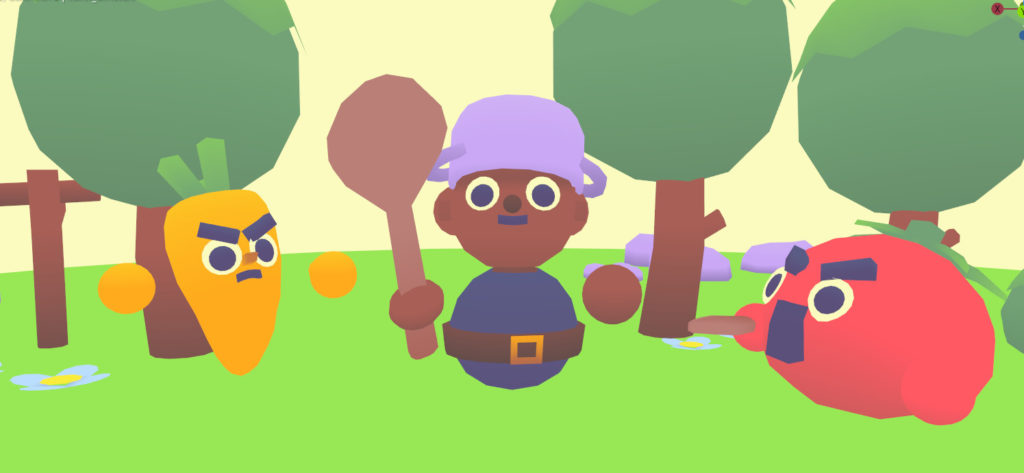 Video: Cute 3d Gameart in 2 Days - Game Jam Timelapse