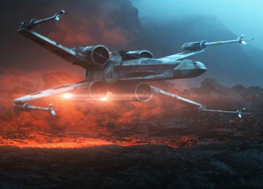 Behind the Scenes: X-Wing Landing VFX