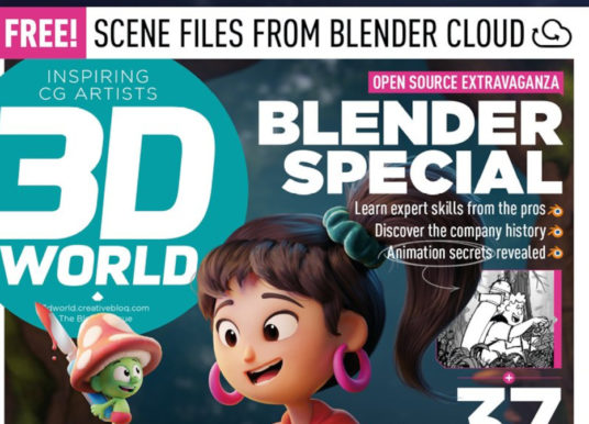 Special Blender Issue of 3D World Magazine